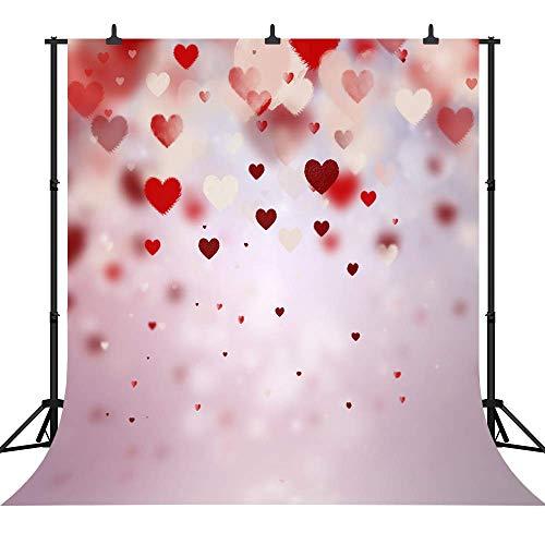JoneAJ PGT302B Fotohintergrund für Valentinstag oder Hochzeit, nahtlos, Vinyl, 300 x 300 cm