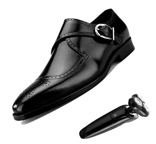 Inglaterra Caballero Zapatos De Cuero Tallados Hombres