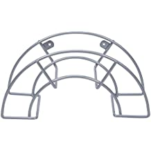 Sauvic 03305 - Soporte manguera pequeño plastificado, color gris