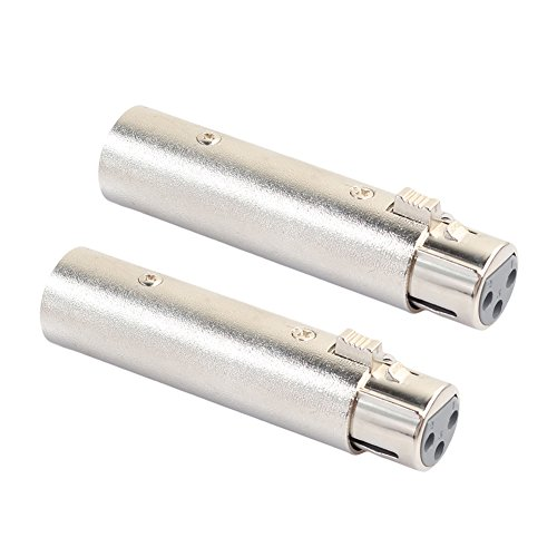 broadroot 2XLR 3Pin Männlich zu weiblich Phase Reversal Adapter Stecker Buchse Kabel Connect -