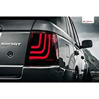 Glohh GL101-GL3-R02 GL-3 Dynamic LED Tail Lights L320 2005-2009 & 2010-2013-Smoke, Red/Smoke preiswert