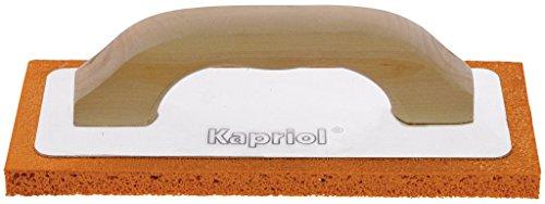 Llana esponja Kapriol con mango de madera–Esponja Roja o Gris–Varios Tamaños