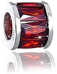 SilberDream Ohrhänger Rondell Zirkonia schwarz 925 Silber SDO8602S
