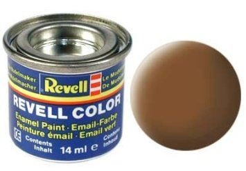 Revell Enamels - 14ml - Dark-earth Matt RAF (32182)