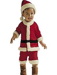 Waboats Disfraz de Papá Noel Para Sombrero Mono Bebé Niños