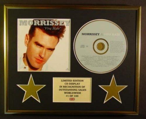 MORRISSEY/CD Display/Limitata Edizione/Certificato di autenticità/VIVA HATE