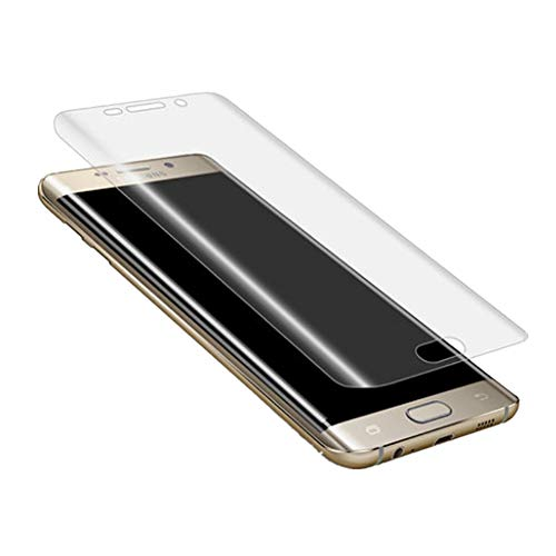 Cosanter Galaxy S6 Edge Panzerglas Vollständige Abdeckung von High Definition Soft Ultra-klar Schutzfolie Panzerglasfolie für Galaxy S6 Edge Schutzfolie -