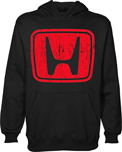 honda-red-logo-t-shirt-unisex-pullover-hoodie-large