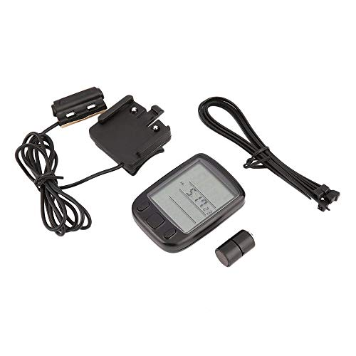 FDBF SUNDING SD-563A Wired Multifunctional Bicycle Computer Mini Odometer  Stopwatch