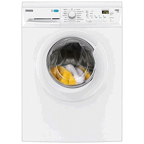 Zanussi ZWF81243WE Lindo 100 8Kg 1200 Spin 14 Programmes Washing Machine White