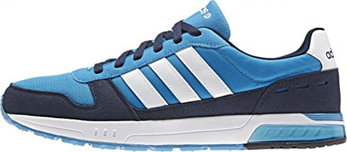adidas - City Runner, Scarpe da ginnastica Uomo Multicolore (Azul marino / Blanco / Turquesa)