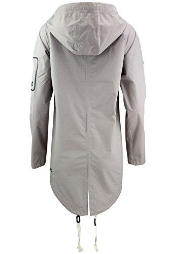 Khujo Kimin Light Jacket, Blouson Femme grau - Stone Grey (BF1)