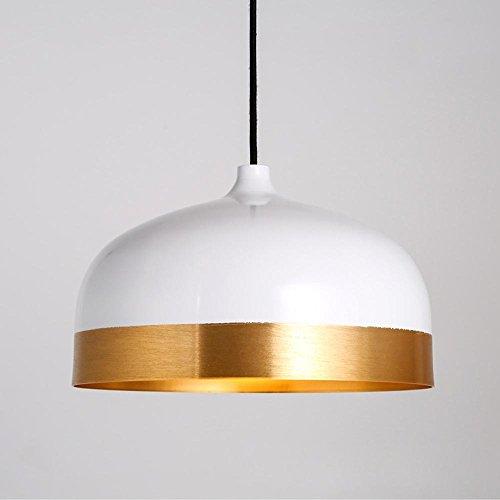 bbslt-arana-de-aluminio-retro-simple-creativo-comedor-mesa-lampara-semi-cabeza-solo-en-la-lampara-de