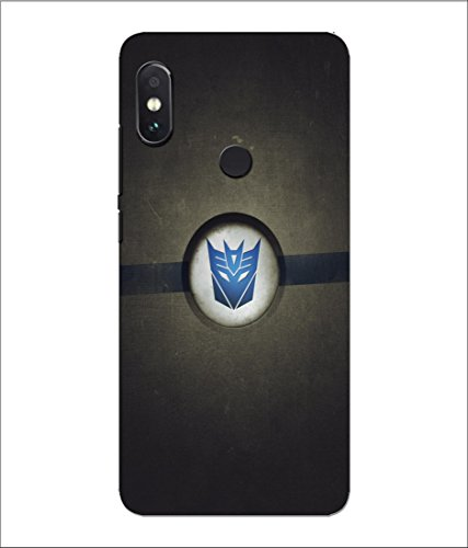 Xiaomi Mi Redmi Note 5 Pro Transformers Logo Printed Hard Polycarbonate Designer Back Case Cover by Mobi Elite