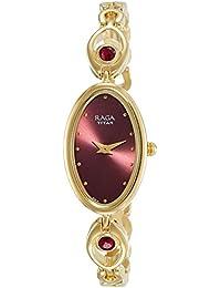 Titan Analog Red Dial Women's Watch-NK2527YM03