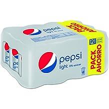 Pepsi Light Refresco - Pack de 12 x 33 cl - Total: 3960 ml