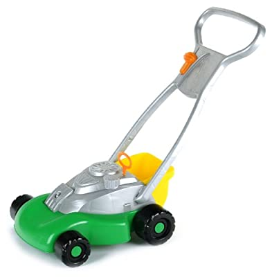 Theo Klein 2696 - Kids Garden Rasenmäher mit Geräusch und Korb, Spielzeug