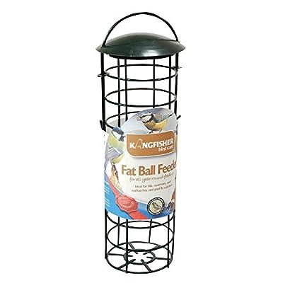 Kingfisher Green Standard Suet Fat Ball Bird Feeder by King Fisher
