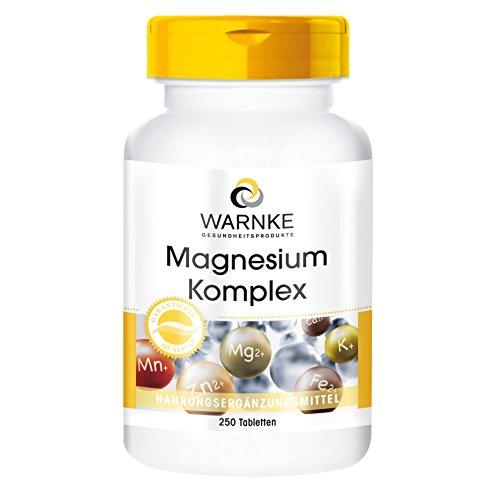 Warnke Magnesium Komplex, 250 Tabletten
