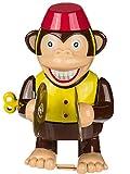 Bada Bing Aufziehfigur Affe Mit Becken Spielzeug Kinder Tier Zirkus Monkey Sound Aufziehen Wind Up Retro 68