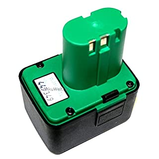 Spare li-ion battery for Würth Gesipa blind riveting gun, Accubird, Powerbird, 070291510061, cordless riveting tools 725 MCS 5800, accu battery rechargeable battery