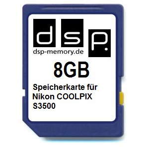 dsp-memory-z-select-4051557403062-8-gb-scheda-di-memoria-per-nikon-coolpix-s3500
