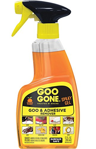 Goo Gone Spray Gel, Single 12oz Bottle - Goo Gone Gum