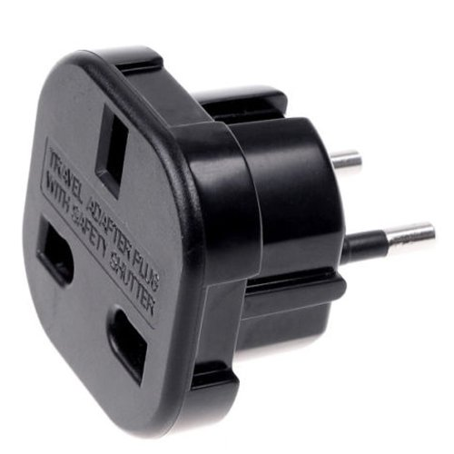 ADAPTADOR CORRIENTE ENCHUFE UK INGLES REINO UNIDO