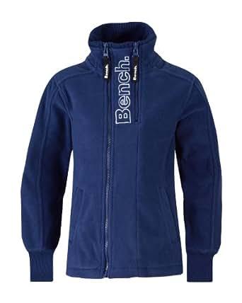 Bench Jungen Sweatshirt Fleecejacke Airline blau (blue depths) 164