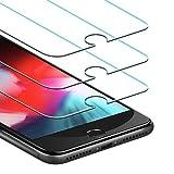 JETech Pellicola Protettiva per iPhone 8 Plus, iPhone 7 Plus, iPhone 6s Plus e iPhone 6 Plus, Vetro Temperato, Pacco da 3