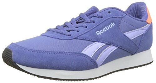 Reebok Damen Royal Classic Jogger 2 Sneaker Blau (Lilac Shadow/lilac Glow/gua Punch/white/black)