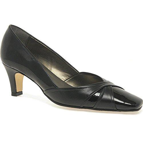 Van Dal Jolie Court Shoe 6 Black Patent