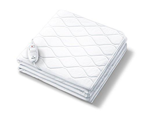 Beurer UB 64 Spann- und Wärmeunterbett (Mit 3 Temperaturstufen und Universalgröße für 90 x 200 cm oder 100 x 200 cm)
