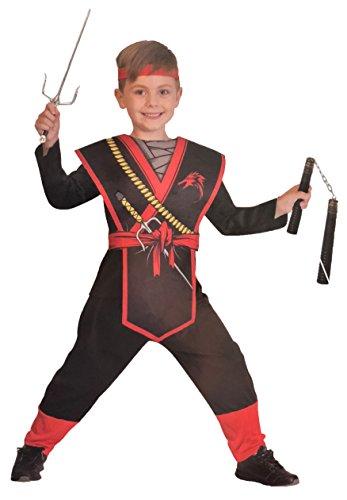 Brandsseller Jungen Kostüm Verkleidung Fasching Karneval Party - -