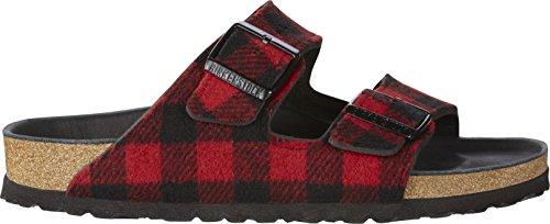 Birkenstock Sandales pour femme Red/black