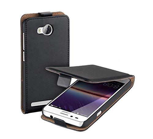 yayago Flip Tasche für Huawei Y3 II / Y3 2 Schutzhülle Flip Case Hülle Klapphülle Schwarz