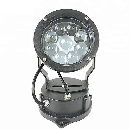 FGKING Impermeable luz de inundación, RGB 27W LED al Aire Libre IP65...