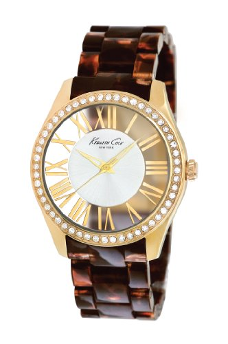 Kenneth Cole Ladies Watch XS Analogue Resin KC4861 Transparenz