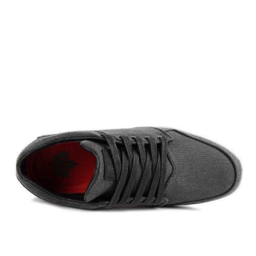 K1X LP Low Black Tweed Dark Red Gris