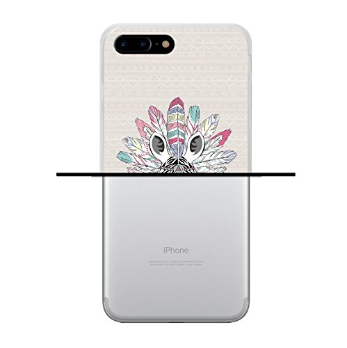 iPhone 7 Plus Hülle, WoowCase Handyhülle Silikon für [ iPhone 7 Plus ] Keep Calm and Be a Princess Handytasche Handy Cover Case Schutzhülle Flexible TPU - Transparent Housse Gel iPhone 7 Plus Transparent D0262