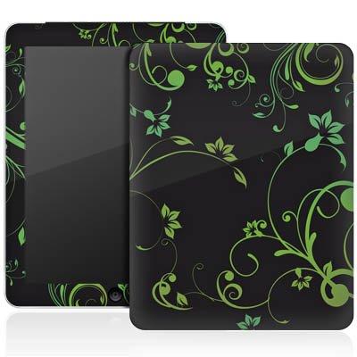 Apple iPad 1 Aufkleber Schutz Folie Design Sticker Skin Blumenranken Blumen Ornamente -
