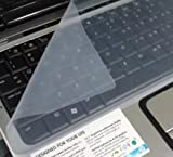 #2: Universal Silicone Keyboard Protector Skin for Laptop 14.0
