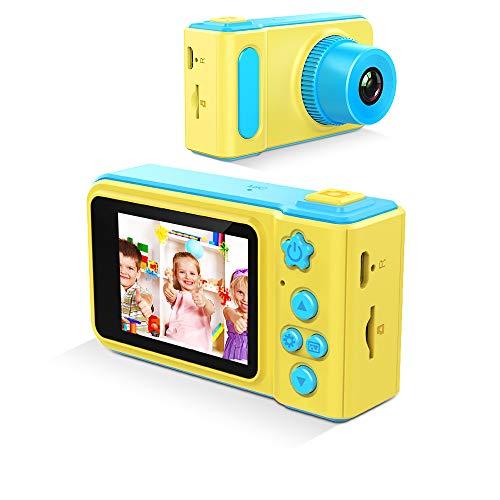GordVE Kinder Kamera Kinder Selfie Camcorder 12MP 2,0 Zoll Bildschirm Spielzeug für Jungen Mädchen Geburtstag (Japanisch Chinesisch Oder Mädchen)
