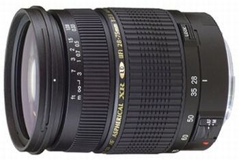 Tamron AF 28-75mm 2,8 XR DI LD ASL SP Macro digitales Objektiv für Canon