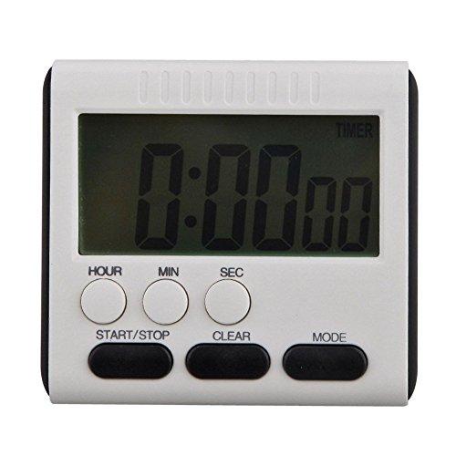 Blue Vessel LCD-Digital Große Küche Kochen Timer Count-Down Up Clock Lauter Alarm