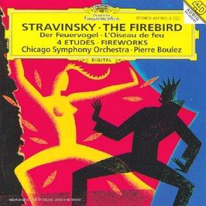 l'Oiseau de feu / Etudes pour orchestre / Feu d'artifice
