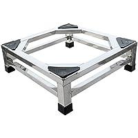 LXFBX Base de Aumento, Base de electrodomésticos Base de Acero Inoxidable Base Cuadrada (Tamaño : 15 cm (5.91 Inches))