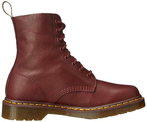 Dr. Martens Pascal, Boots femme Rouge (Cherry Red Virginia)