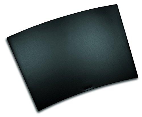 Preisvergleich Produktbild Läufer 40598 Durella Trapez Schreibtischunterlage, 50 x 70 cm, schwarz, trapezförmige Schreibunterlage