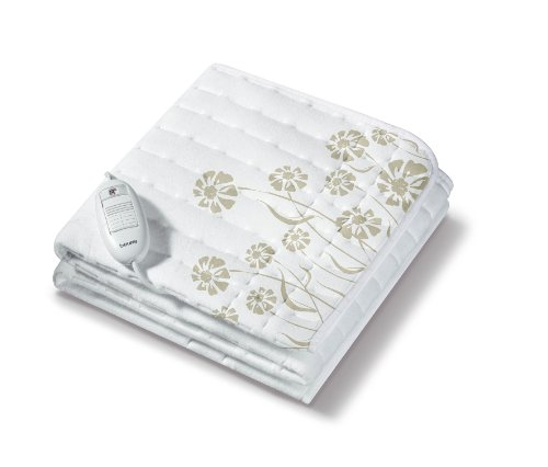 Beurer TS23 Calientacamas individual, transpirable, lavable, 3 potencias, display iluminado, cama individual,...